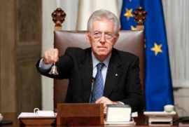 Italian PM, Mario Monti